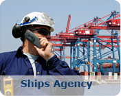The Ships Agency division of Trans Marine Shipping is the most experienced department of the company, offering bunkers, fresh water and supplies, Crew changes, Dry Docking, Repairs, Ships Agency in port or offshore, Training arrangements / visas required by our client's crew, Worldwide travel arrangement